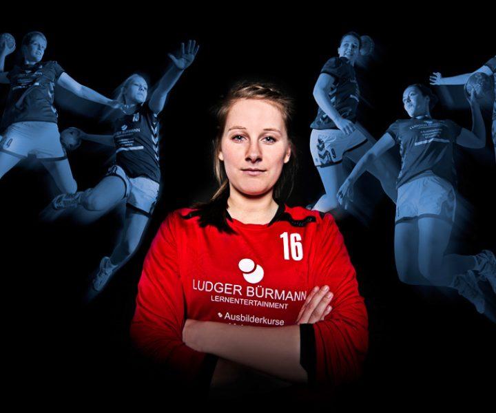 Als Fotograf beim Action-Shooting der Vechtaer Handballerinnen