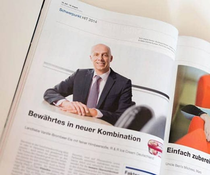 Lebensmittel Praxis – HIT Produkte 2014 – Businessportraits